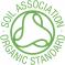 Certifikát: Soil Association Kontrolovaná prírodná kozmetika