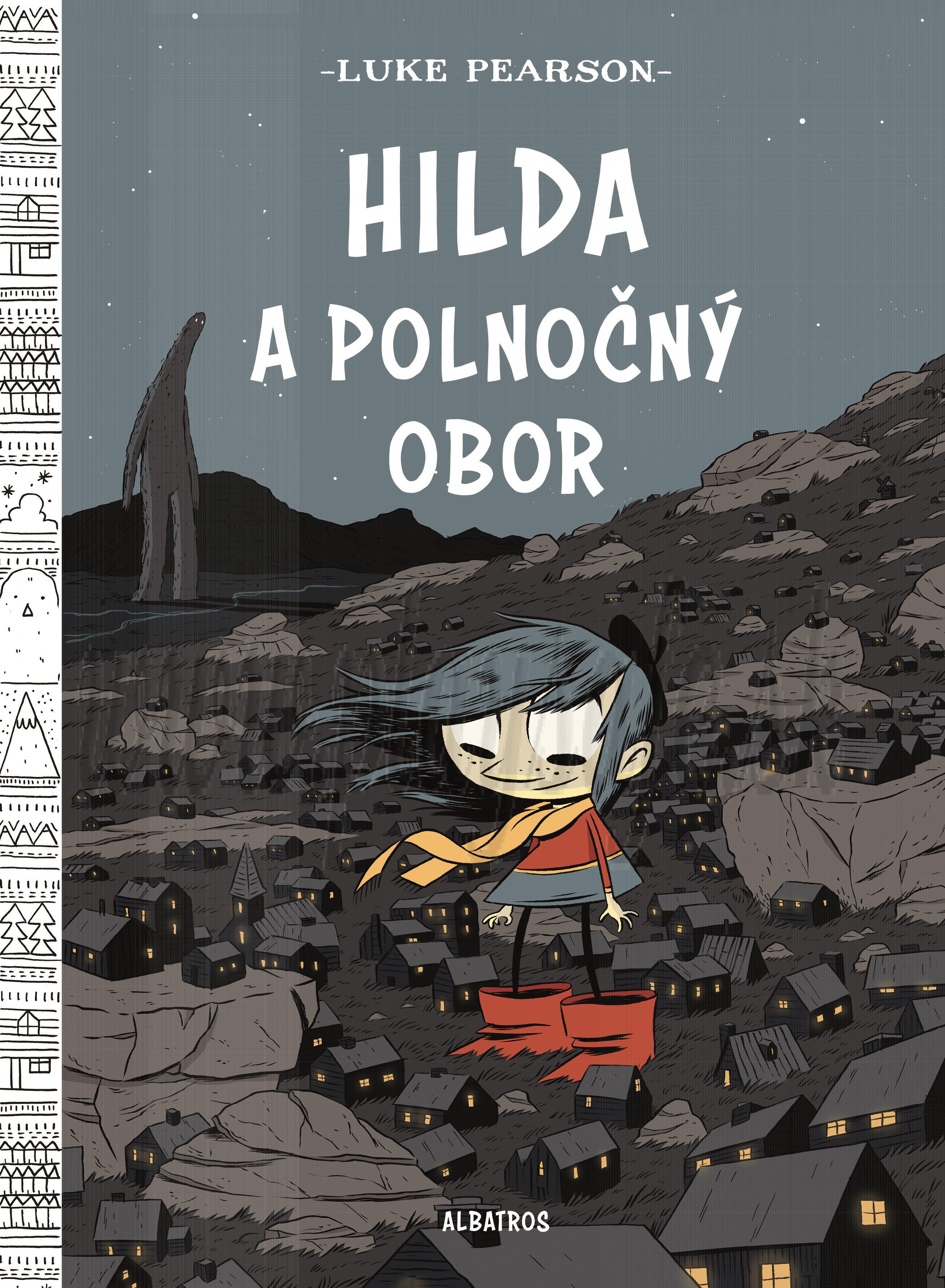 Komiks Luke Pearson: Hilda a polnočný obor