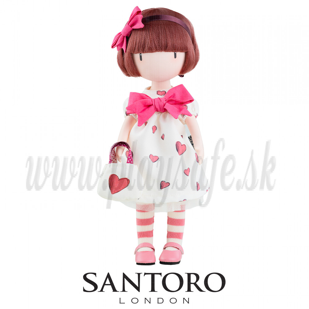 Santoro London Gorjuss bábika Little Heart, 32cm