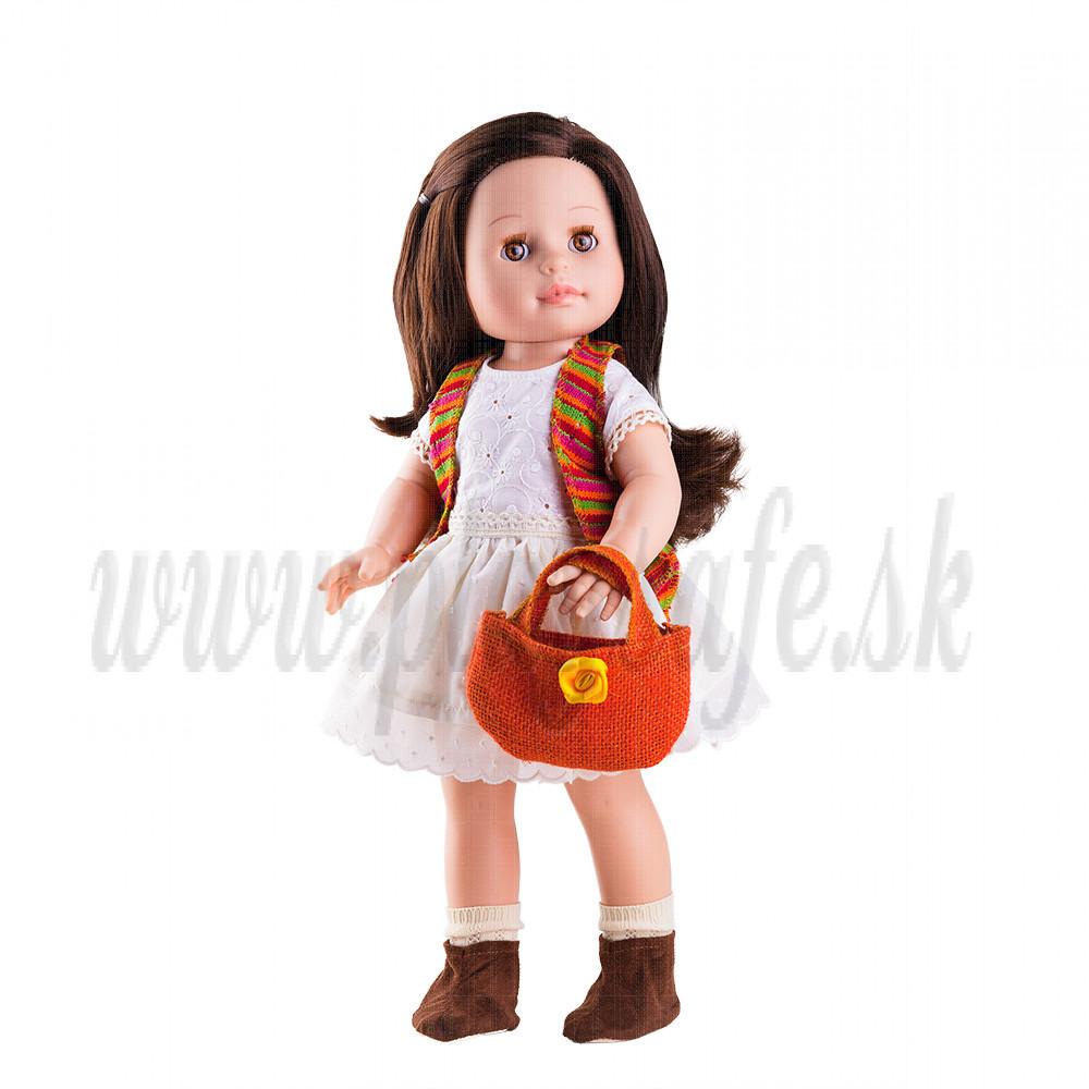 Paola Reina Soy tu šatočky Emily 2017, 42cm s taškou