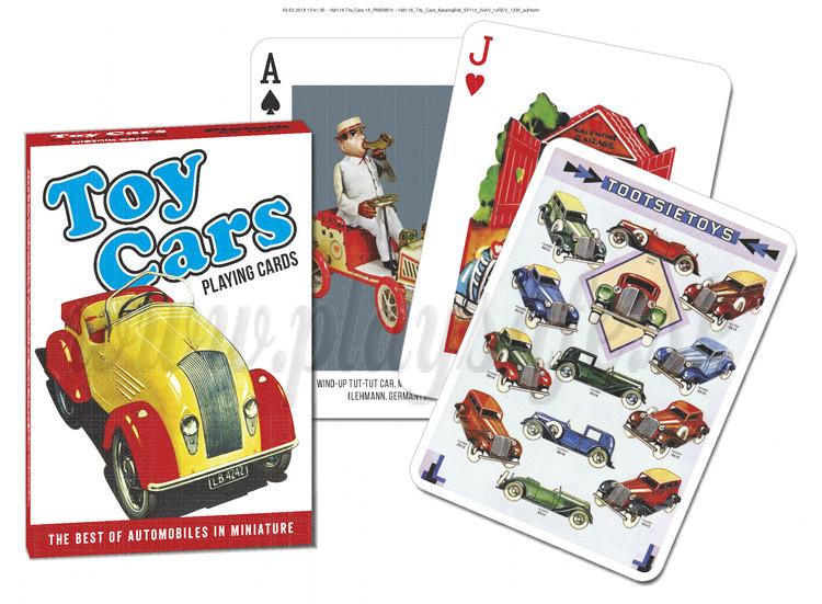 Piatnik Karty Hračkárske autá, 54 kariet poker