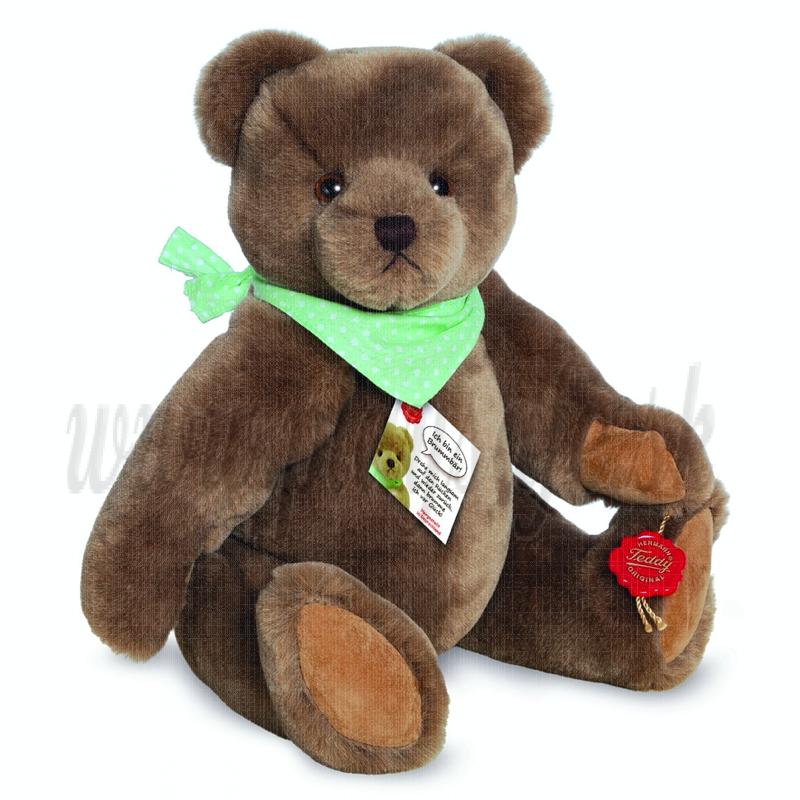 Teddy Hermann Plyšový medveď Carlo, 30cm kĺbový brumčiaci