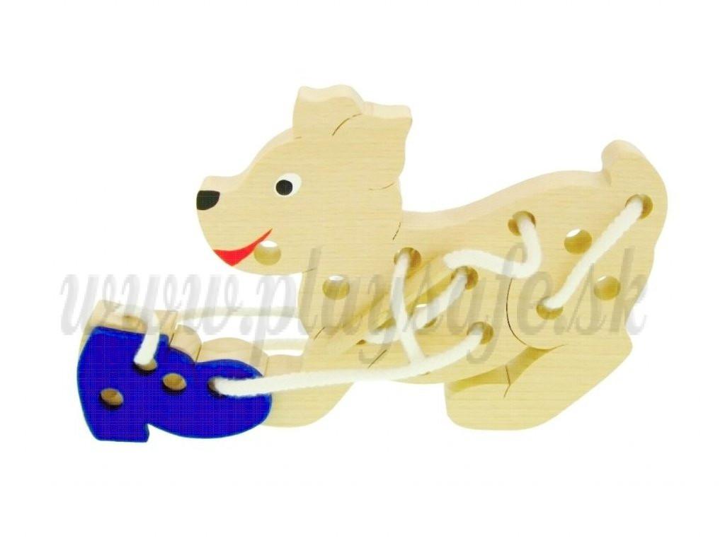 Makovský Drevená prevliekačka Pes