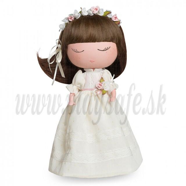 Berjuan Anekke bábika, 32cm krémové šaty