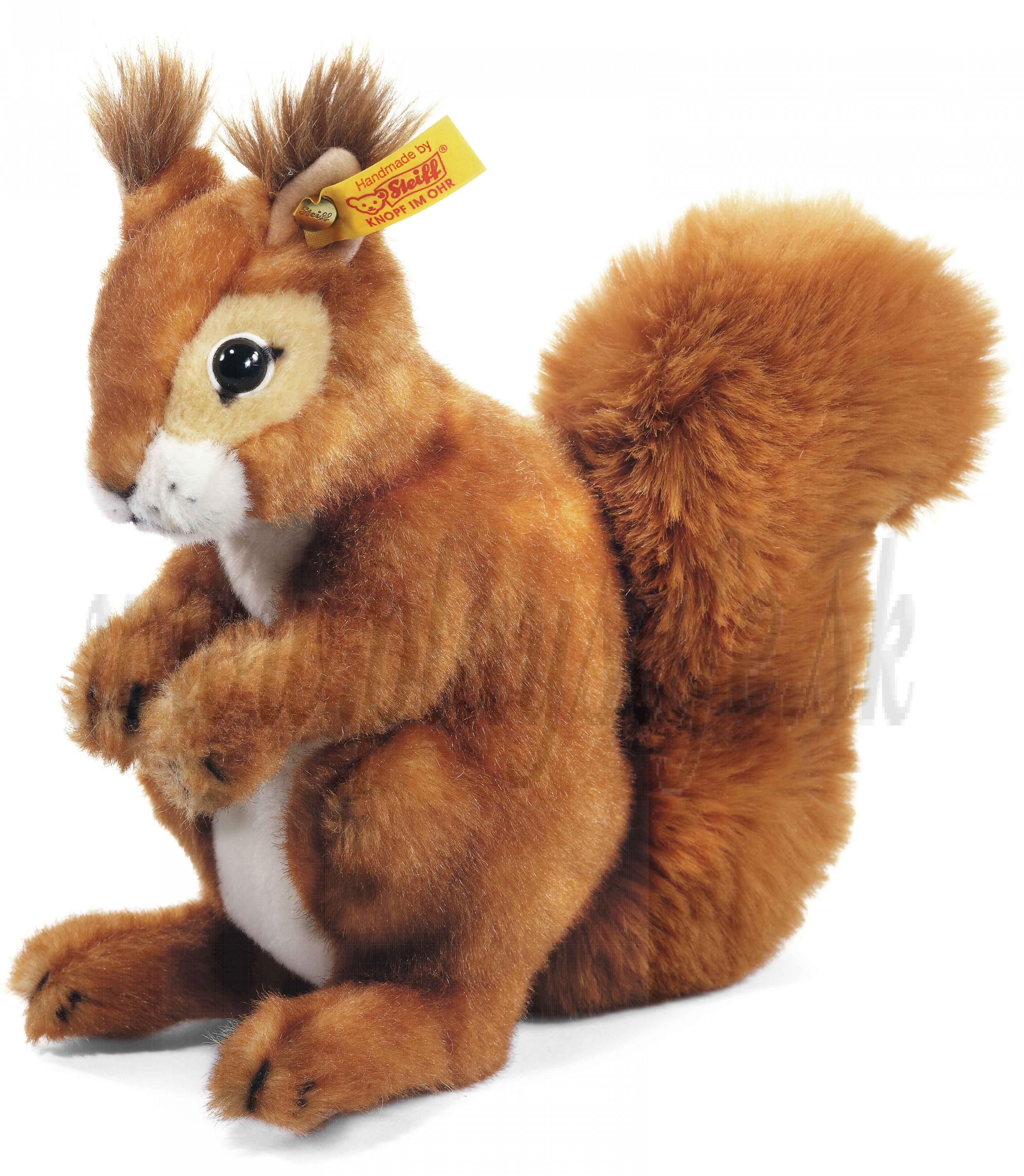 Steiff Plyšová veverička Niki, 21cm