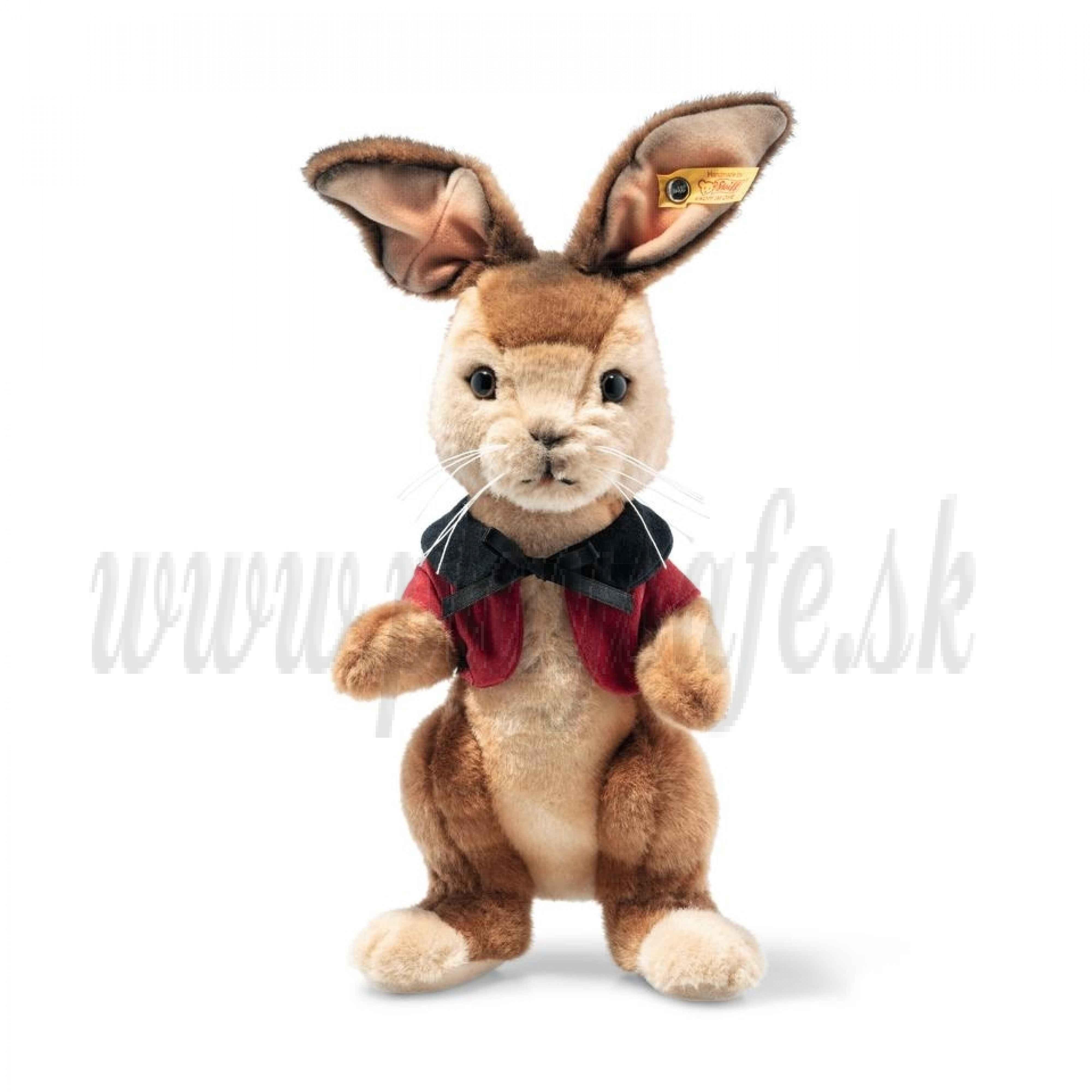 Steiff Peter Rabbit Plyšový zajac Flopsy Bunny, 25cm