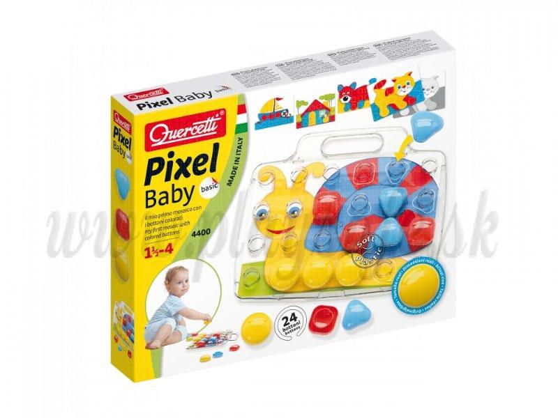 Quercetti Mozaika 4400 Pixel Baby Basic, 24ks
