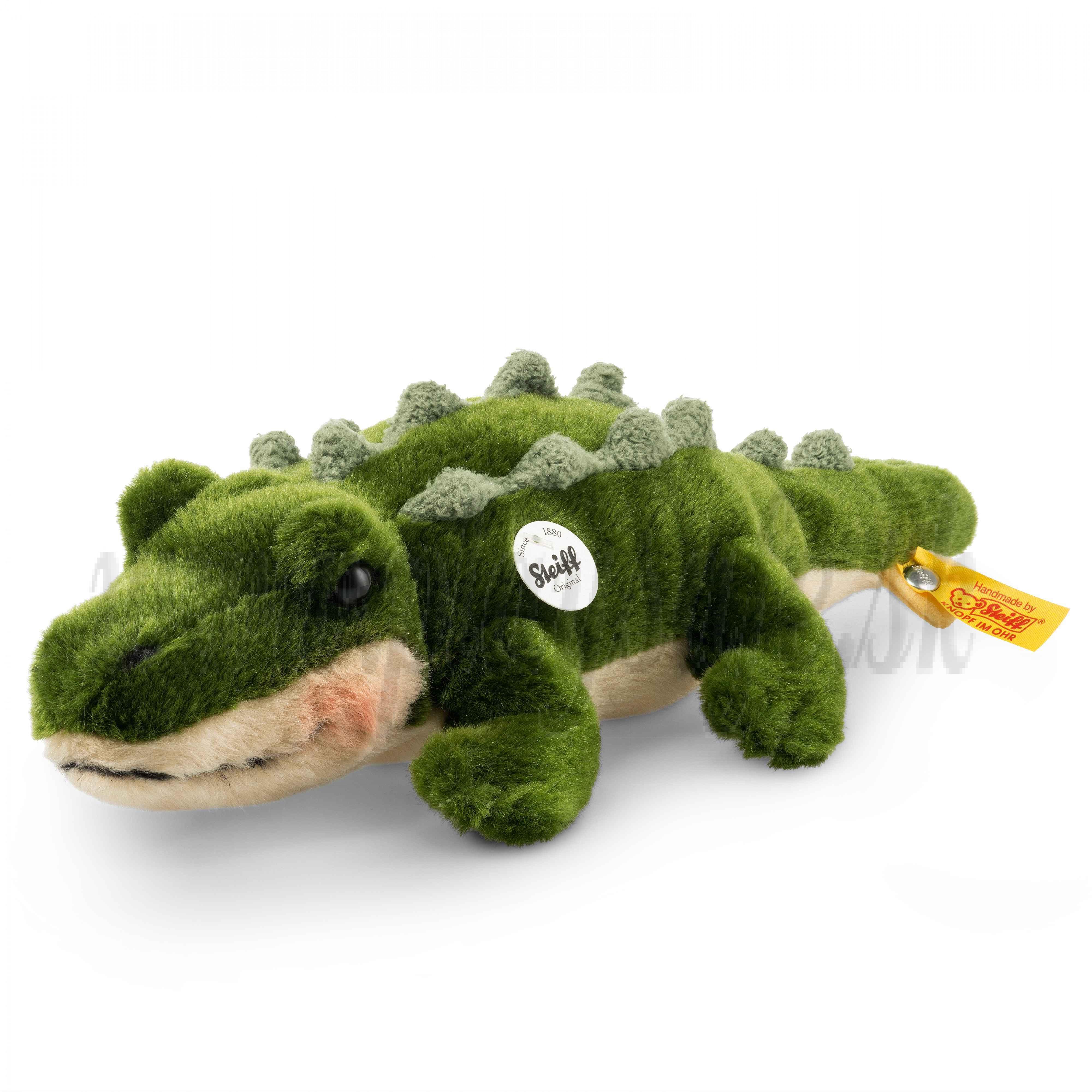 Steiff Plyšový krokodíl Rocko, 30cm