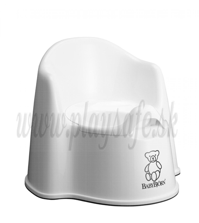 BabyBjörn nočník kresielko Potty Chair Snow White biele