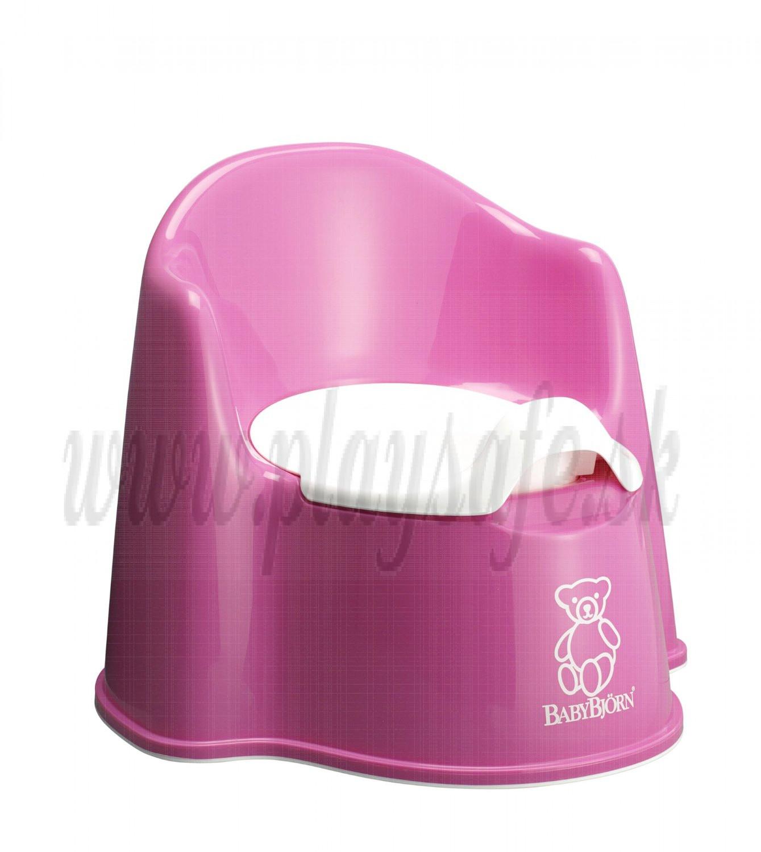 BabyBjörn nočník kresielko Potty Chair Pink ružové