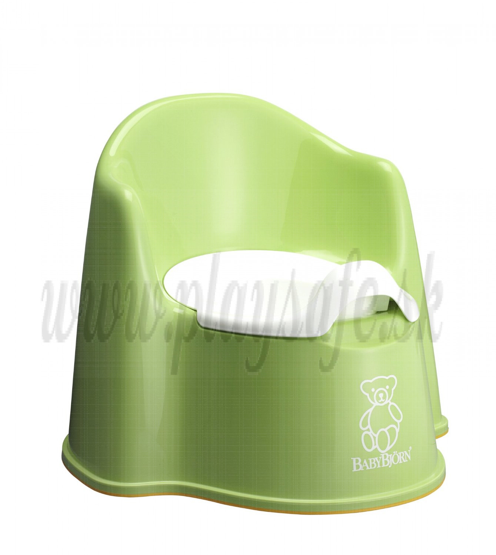BabyBjörn nočník kresielko Potty Chair Spring Green zelené