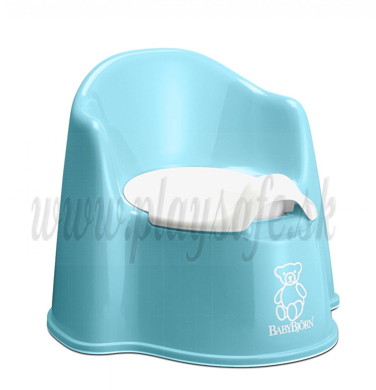 BabyBjörn nočník kresielko Potty Chair Turquoise tyrkys