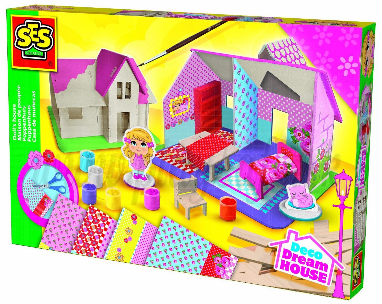 SES Creative Výroba dreveného domčeka pre bábiky