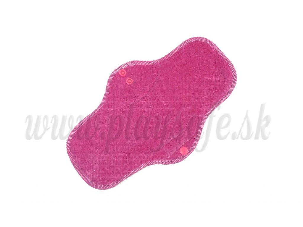 Anavy Nočná vložka s flísom bavlnený velúr cukrík sýta ružová