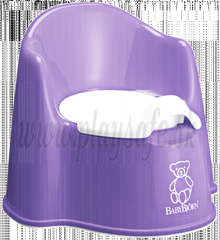 BabyBjörn nočník kresielko Potty Chair Purple fialový