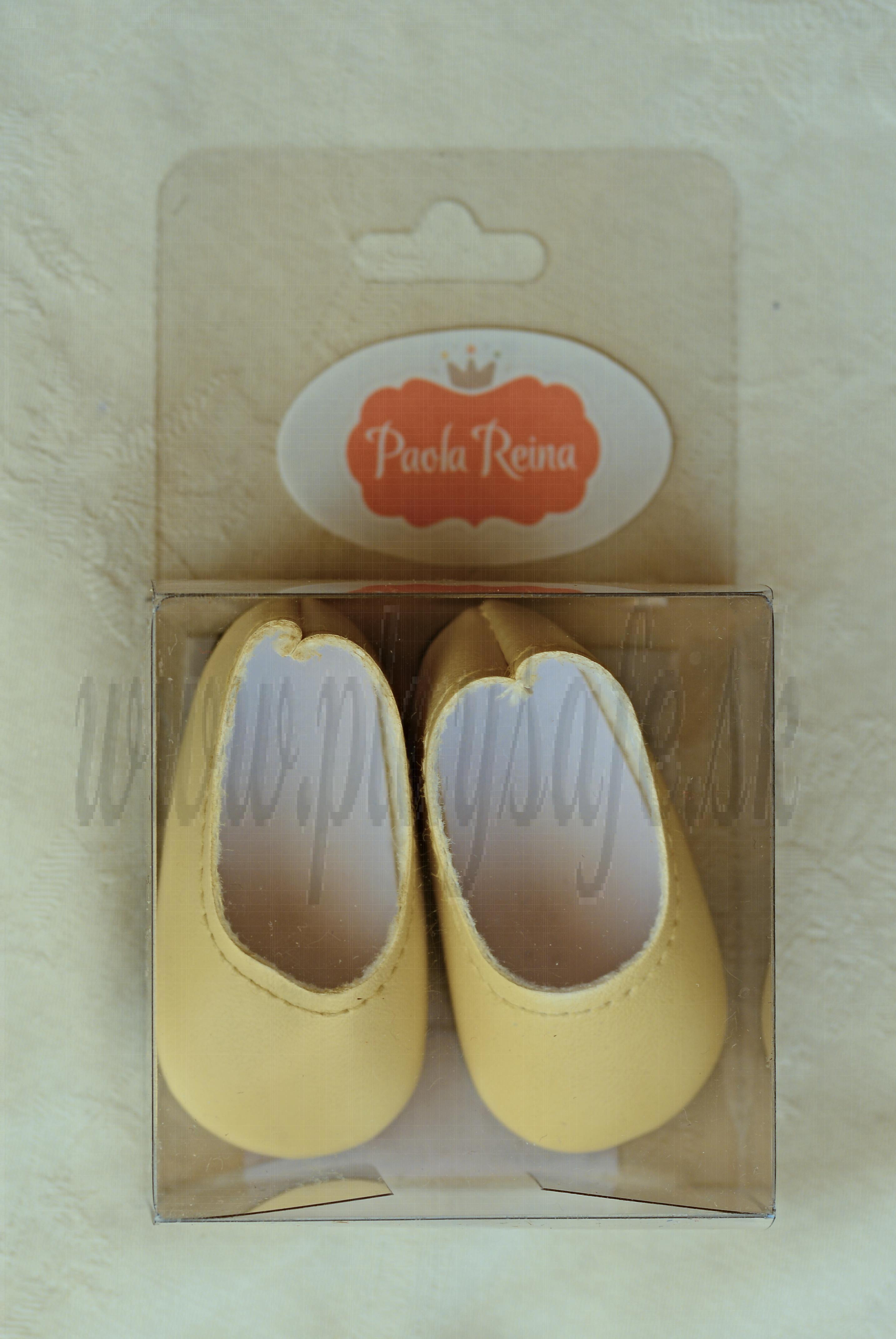 Paola Reina Las Amigas Baleríny béžové - pastelovo žlté 32cm