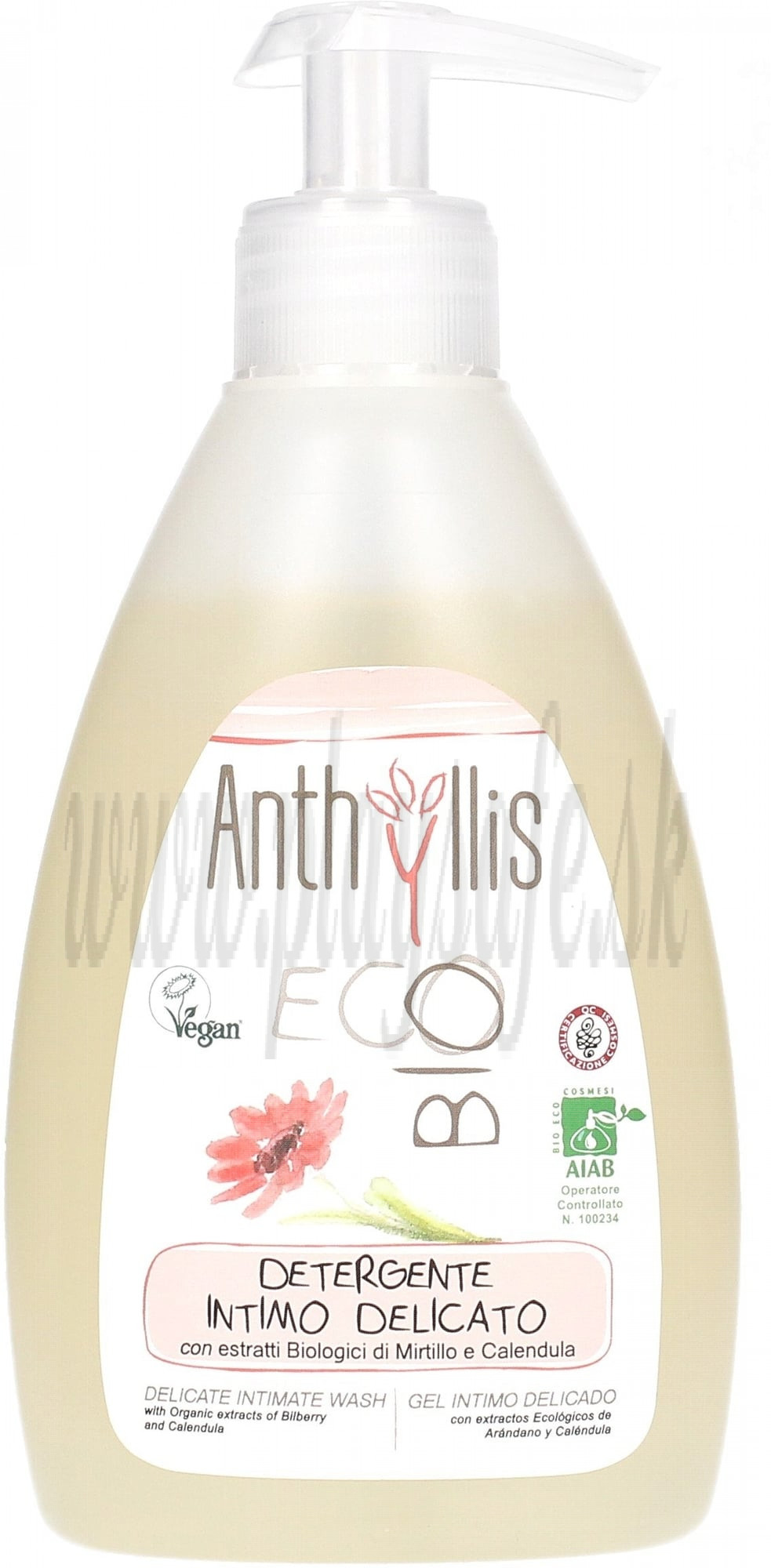 Anthyllis Intímny kúpeľový gél, 300ml
