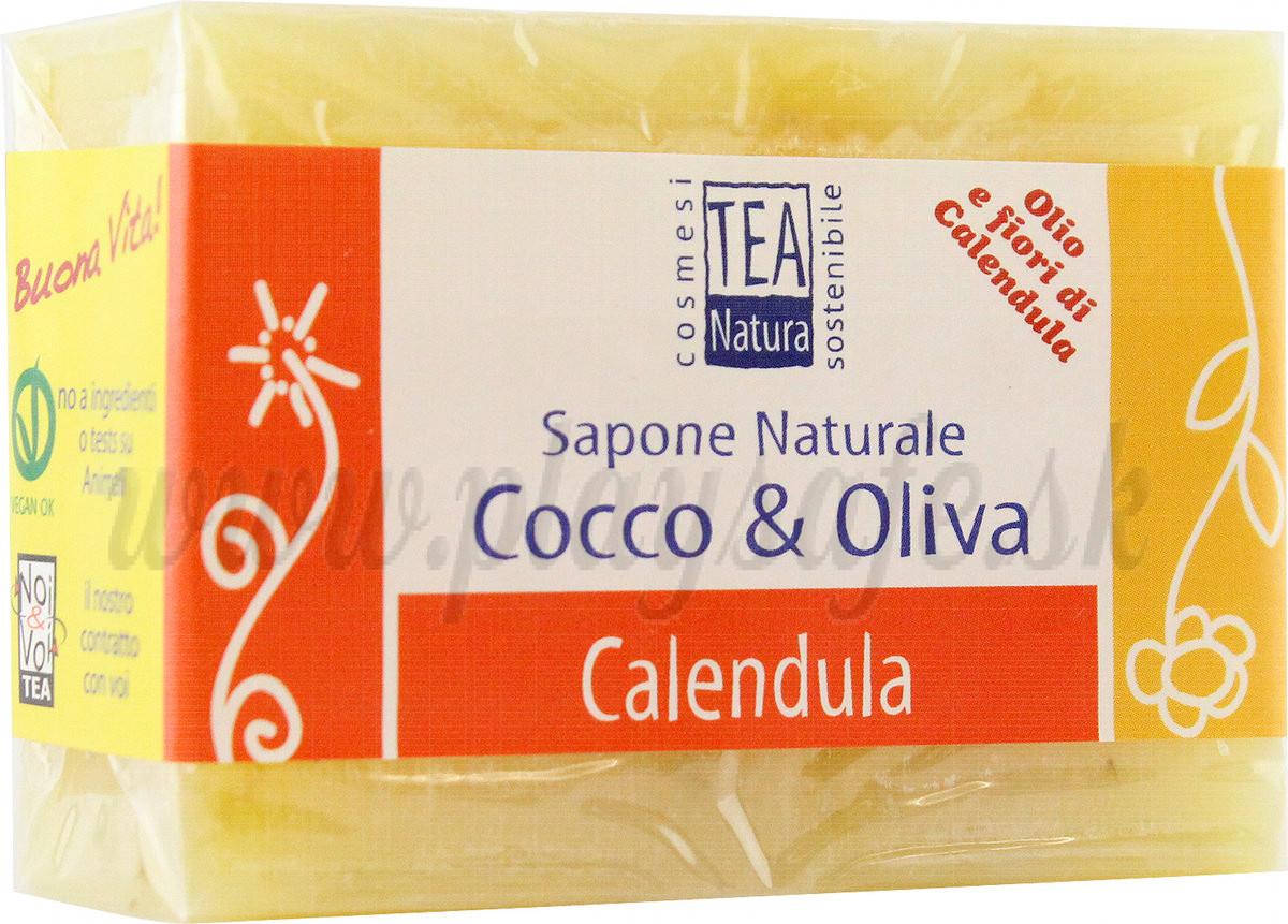 TEA Natura Mydlo kokos-oliva s nechtíkom, 100g