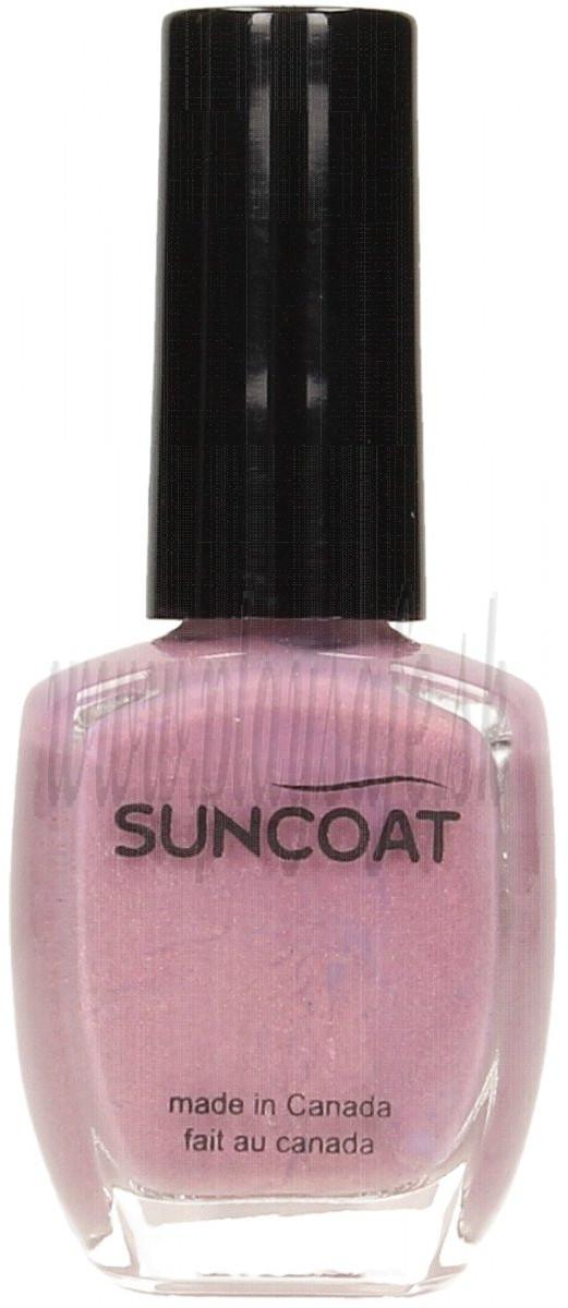 Suncoat Lak na nechty na vodnej báze Long Lasting Lavender, 11ml