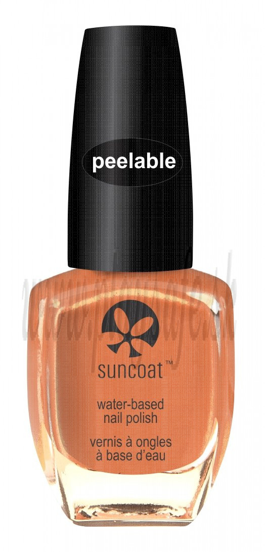 Suncoat Lak na nechty odlúpiteľný Coral Reef, 11ml
