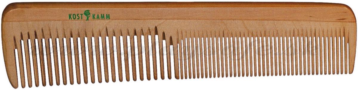 Kostkamm Drevený hrebeň na vlasy