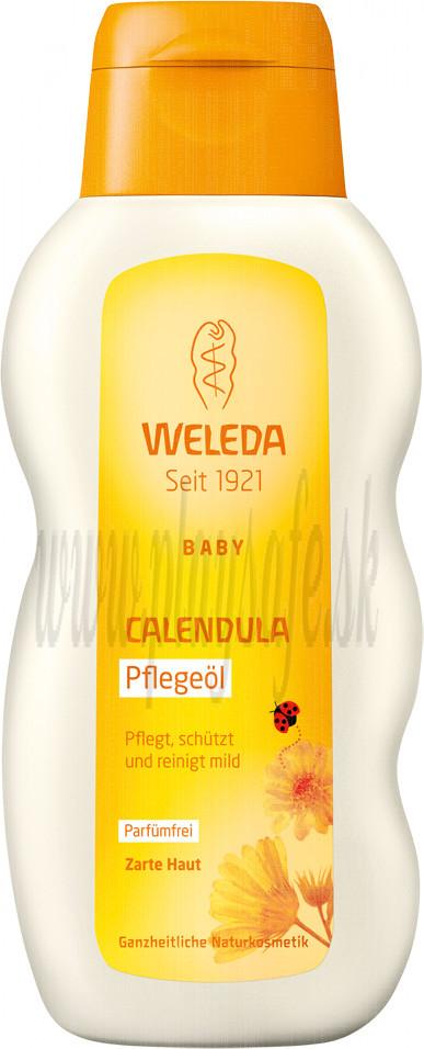 Weleda Nechtíkový dojčenský olej, 200 ml