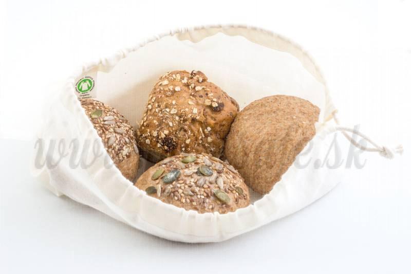 Bo Weevil Vrecko na chlieb z biobavlny, 30x20