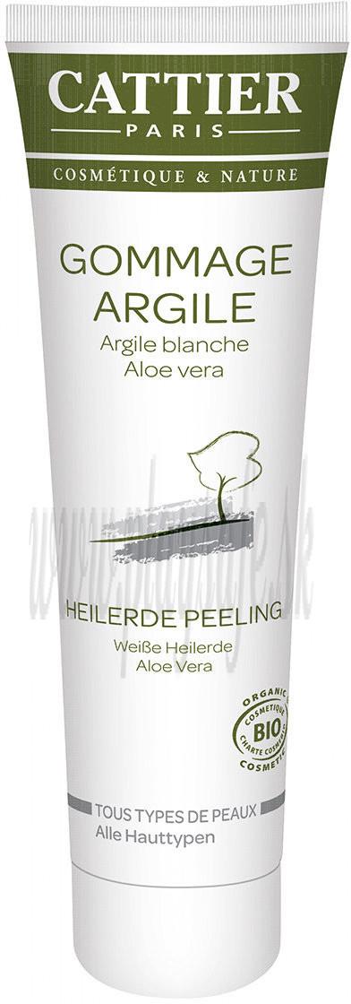 Cattier Paris Biela ílová peelingová maska pre všetky typy pleti, 100ml