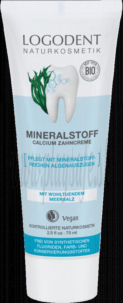 Logona Logodent Minerálna zubná pasta Calcium, 75ml