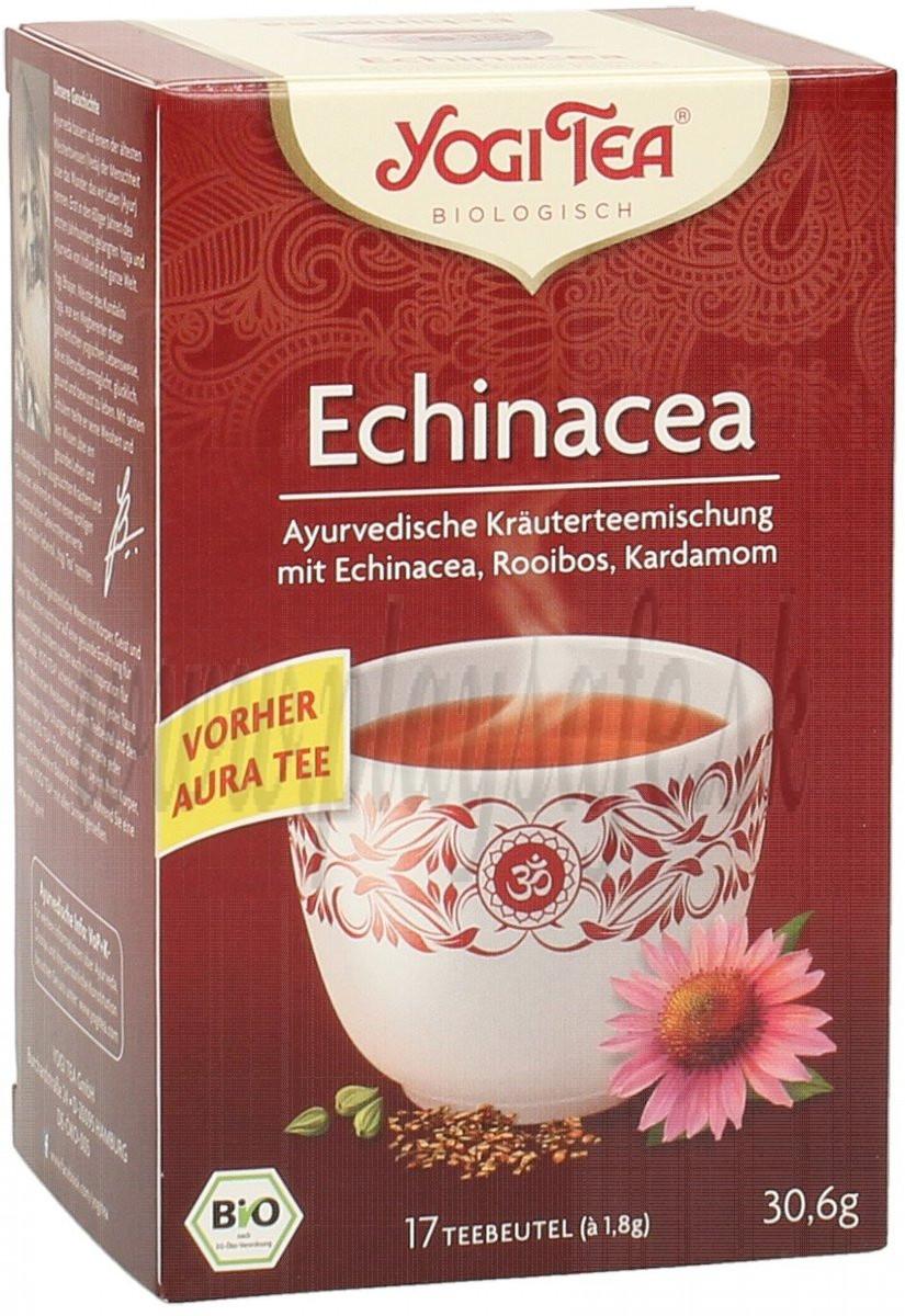 Yogi Tea Bio čaj Echinacea po jedle, 17ks