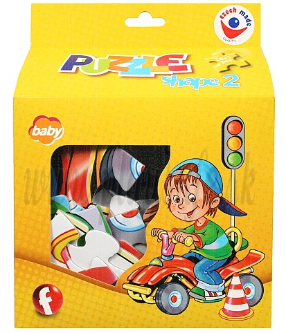 Efko Puzzle tvarové Shape II. Baby