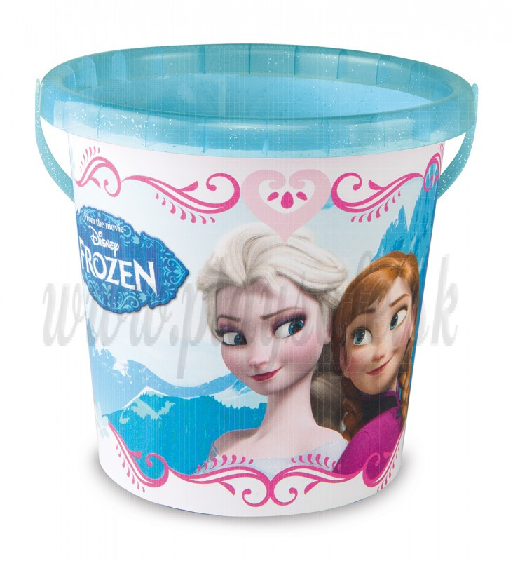 Smoby Vedro prázdne stredné Frozen, 18cm