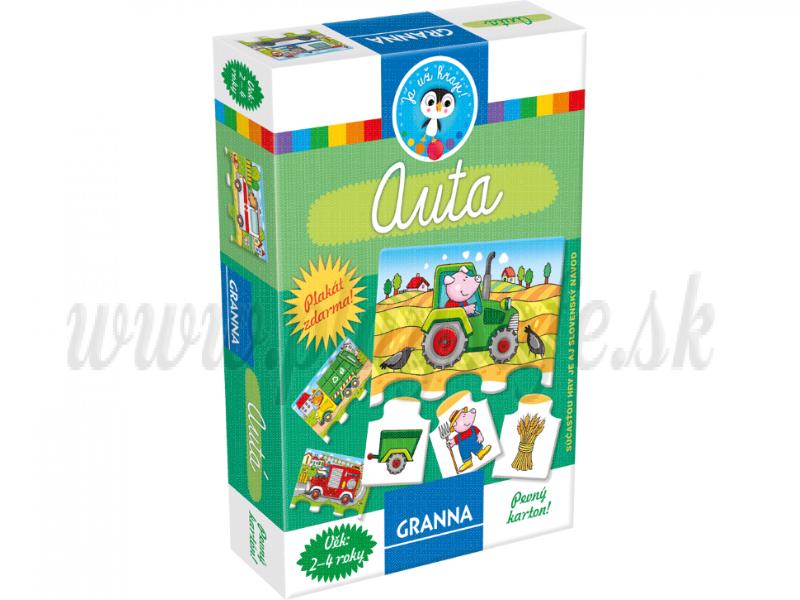 Granna Hra pre najmenších Autá