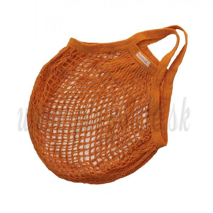 Bo Weevil Sieťovka z biobavlny pomaranč