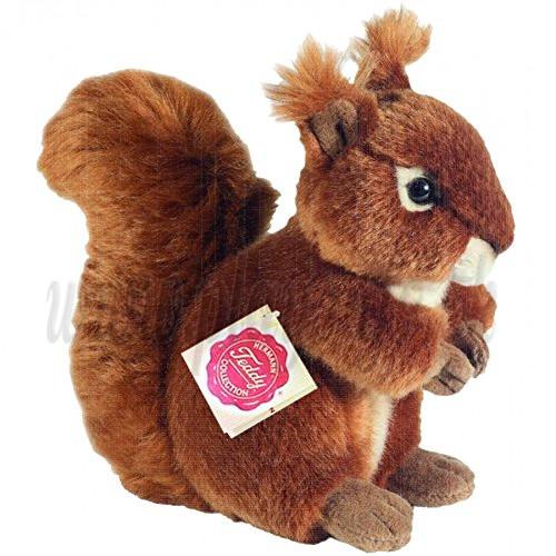 Teddy Hermann Plyšová veverička, 17cm