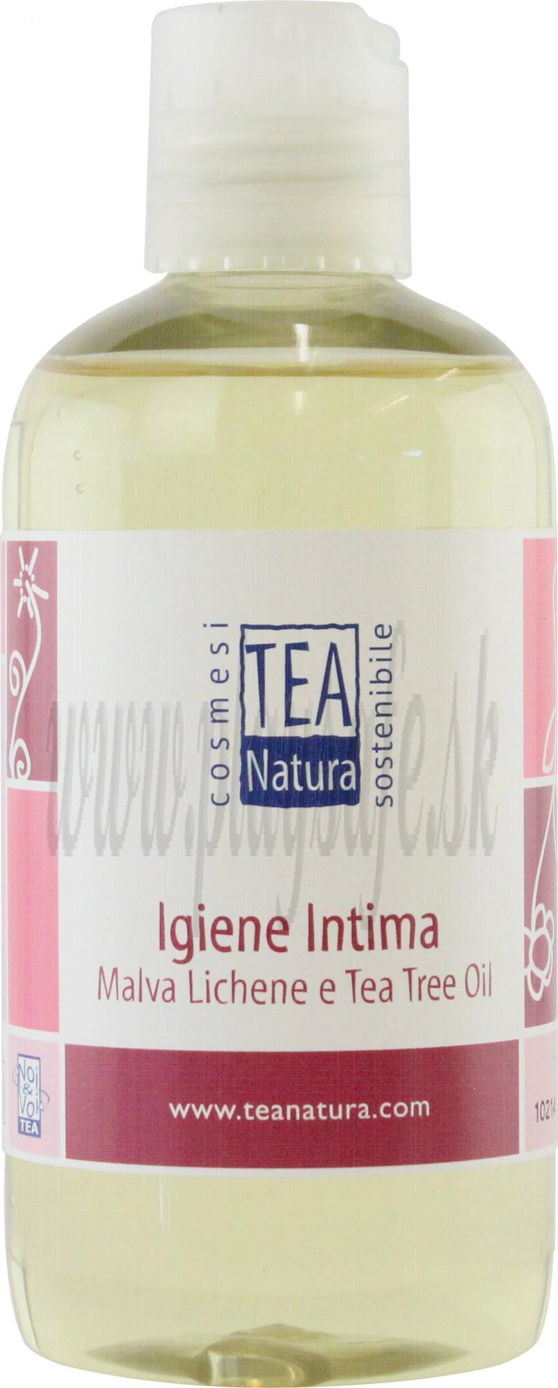 Tea Natura Intímny čistiaci gél s výťažkom slezu a tea tree, 250ml