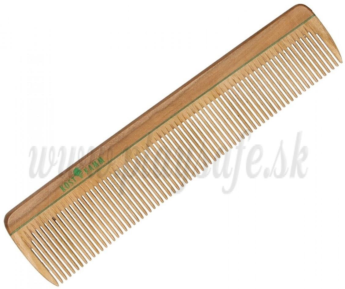 Kostkamm Drevený hrebeň na vlasy pre mužov