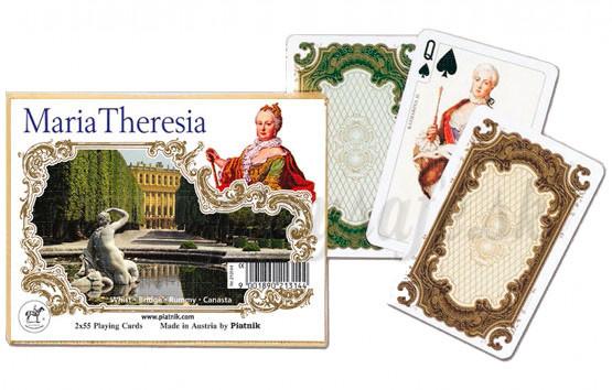 Piatnik Karty Kanasta Mária Terézia