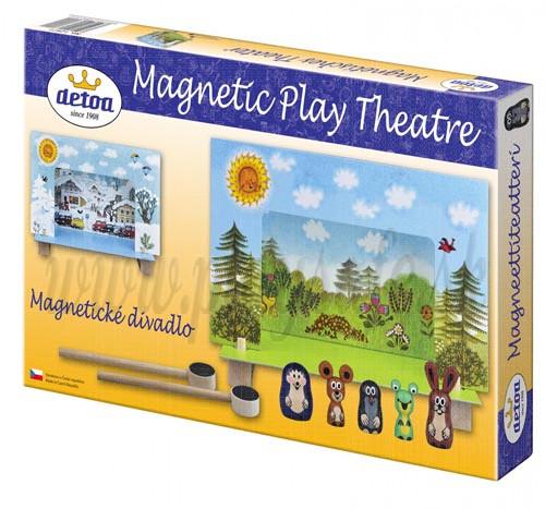 DETOA Drevené magnetické divadlo Krtko