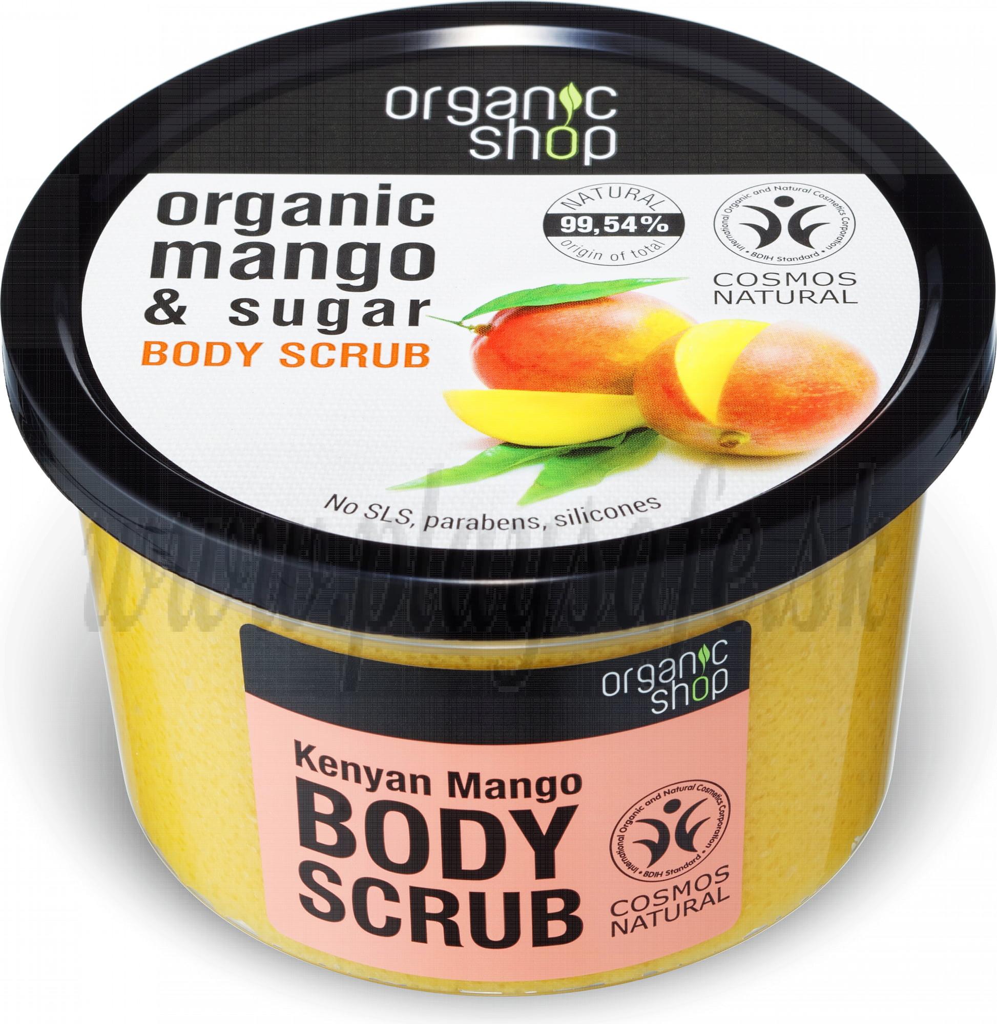Organic Shop Telový peeling Kenyan Mango, 250ml