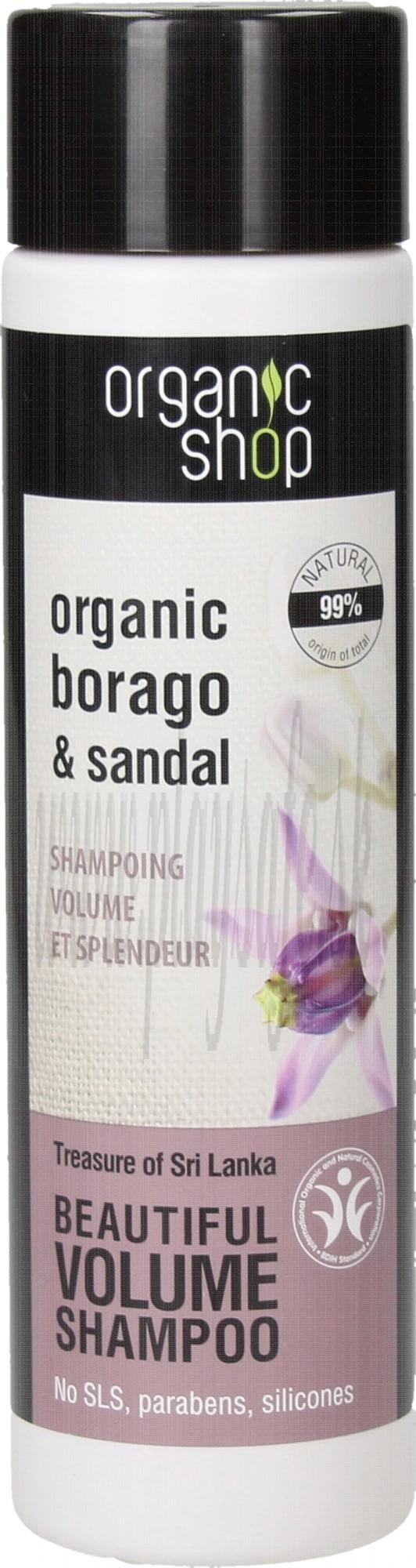 Organic Shop Šampón Volume Poklad Srí Lanky, 280ml