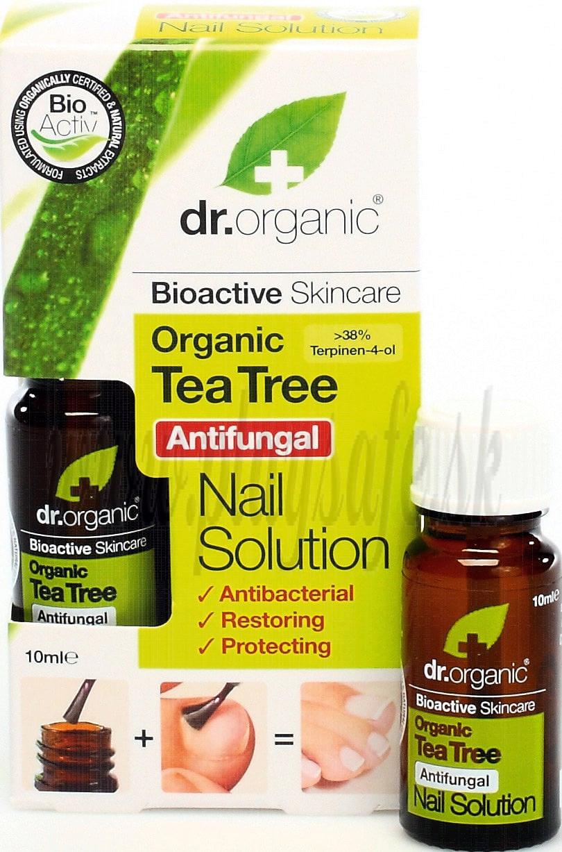 Dr. Organic Bio Tea Tree Roztok na nechty, 10 ml