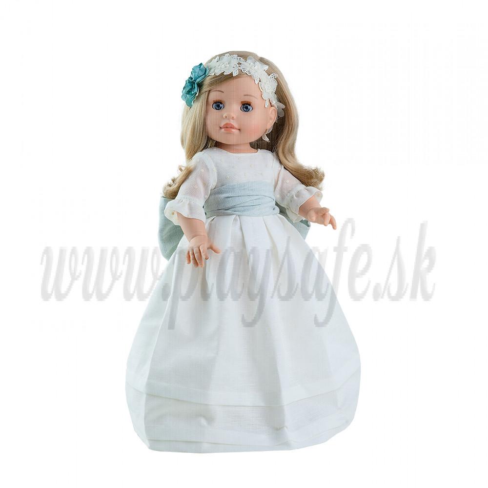 Paola Reina Soy tu bábika Emma, 42cm v bielom