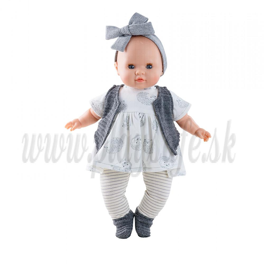 Paola Reina Los Manus bábika bábätko Agatha, 36cm