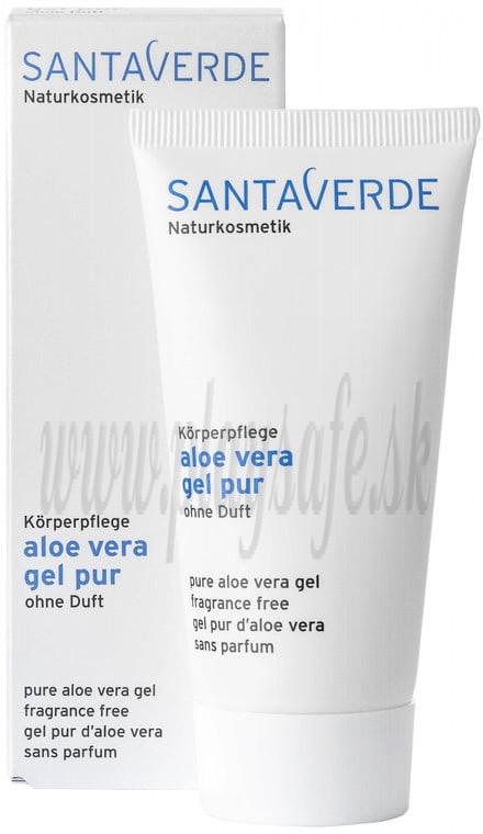 Santaverde Aloe Vera Gel bez vône, 50ml