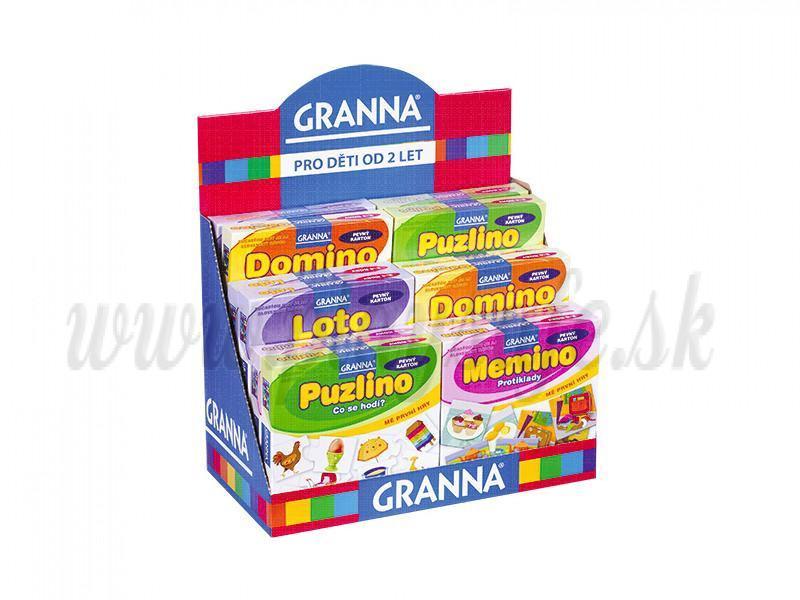 Sada hier Granna pre deti 2-4 roky