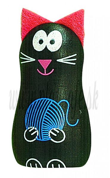 DETOA Drevená magnetka Mačička