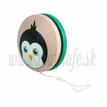 DETOA Drevená hračka JO-JO Tučniak