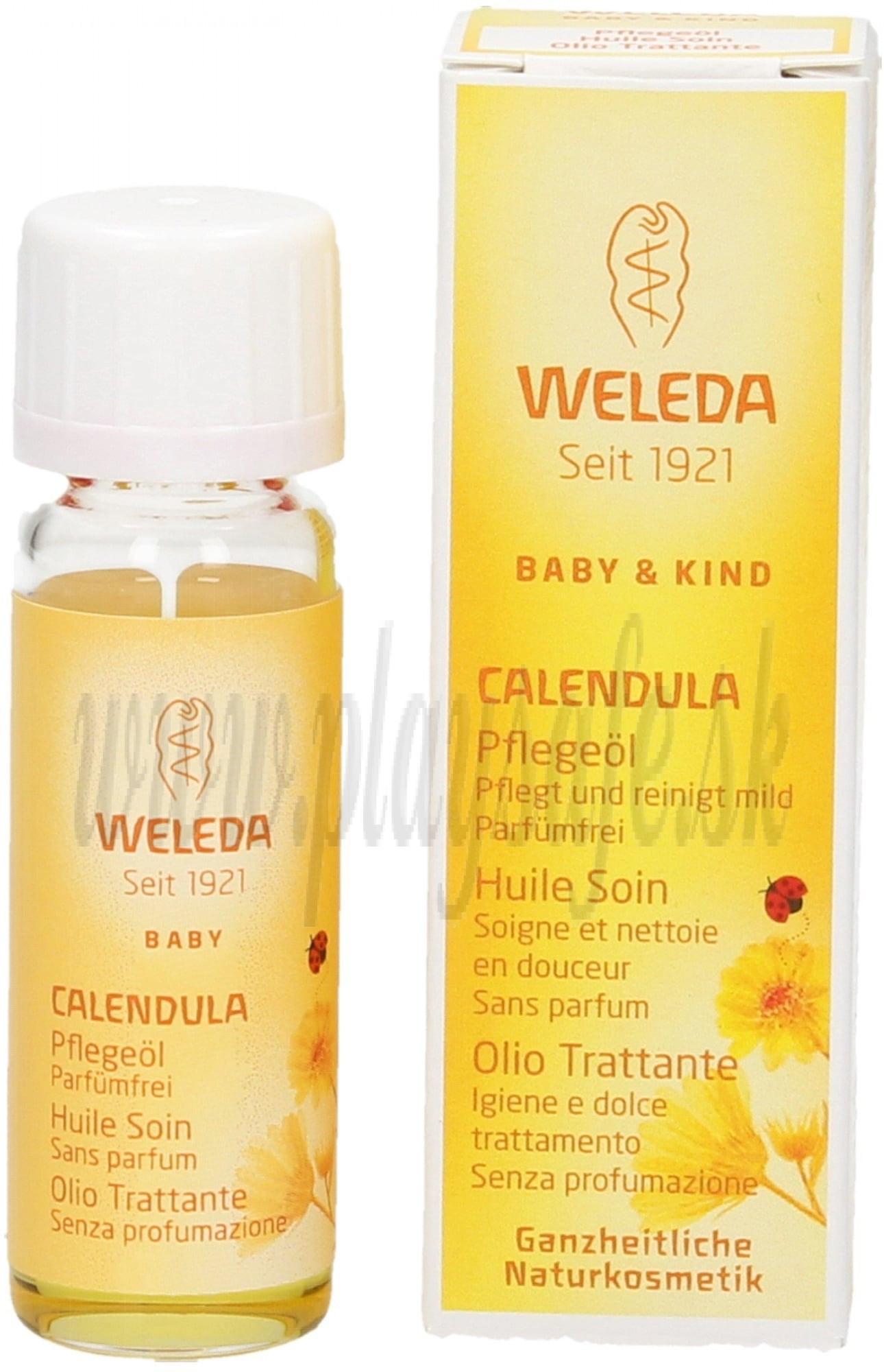 Weleda Nechtíkový dojčenský olej, 10 ml