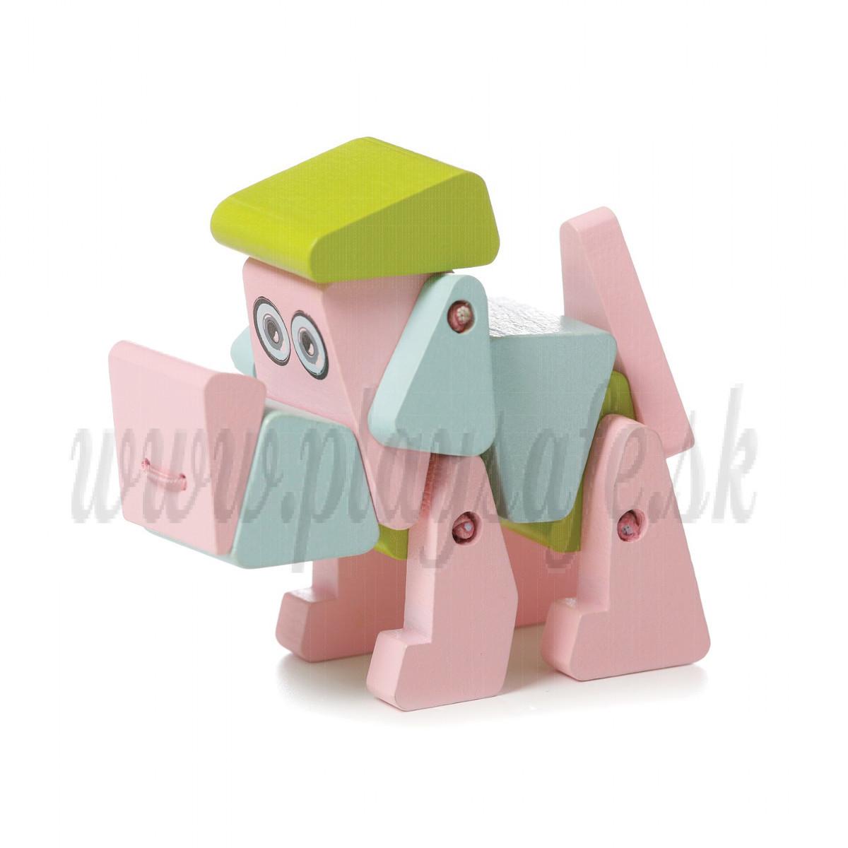 Cubika Drevená hračka Pes Akrobat